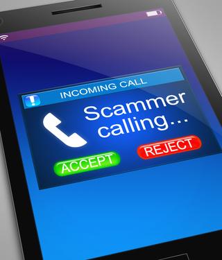 Scam call