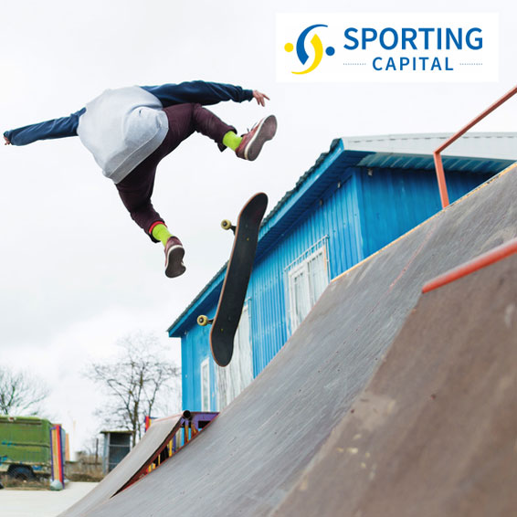 Sporting capital - Skateboarder